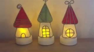 生徒作品 お家ライト | 手作りライト照明教室 PAPERMOON(東京 自由が丘)