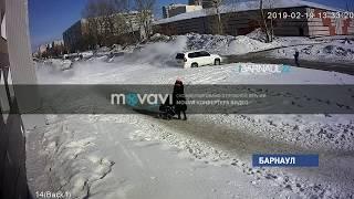 Сезон схода «лавин» стартовал в Барнауле