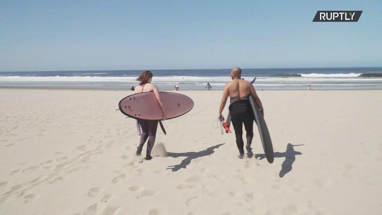 ΗΠΑ: Οι παραλίες της κομητείας του Λος Άντζελες ανοίγουν ξανά με περιορισμούς