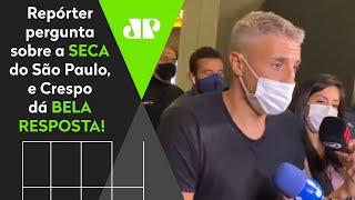 """""""Assumir o São Paulo é…"""" Confira o que Crespo falou na chegada ao Brasil"""