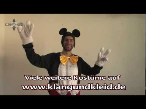 Micky Maus Kostüm Erwachsene Disney Karneval Fasching