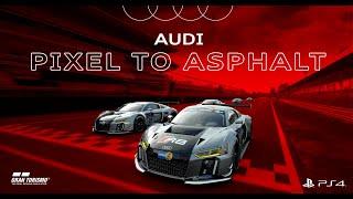 R8: acelera desde Gran Turismo Sport hasta un circuito real Trailer