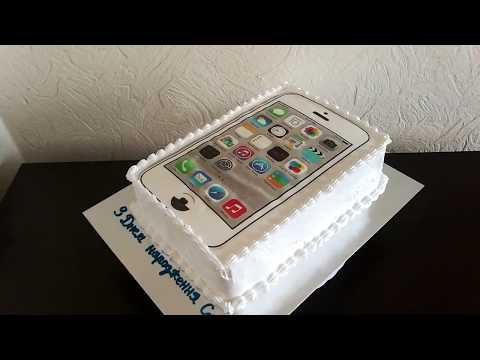 Идея торта в стиле Айфон