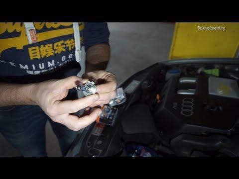 Audi A3 8L Scheinwerfer Rückleuchte Blinker Leuchten Birnen Glühbirne Leuchtmittel tauschen wechseln
