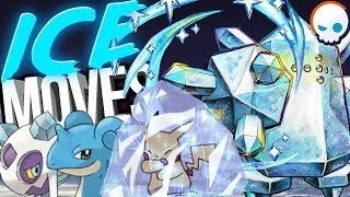 EVERY Ice Type Pokemon Move EXPLAINED! | Gnoggin
