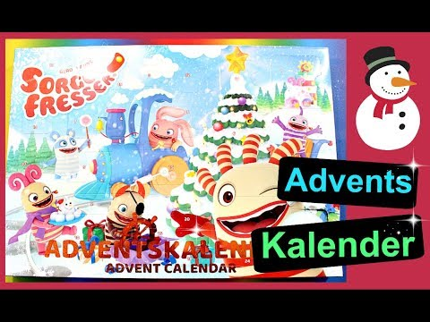 SORGENFRESSER Kinder Adventskalender 2017 Unboxing | 9999 Dinge
