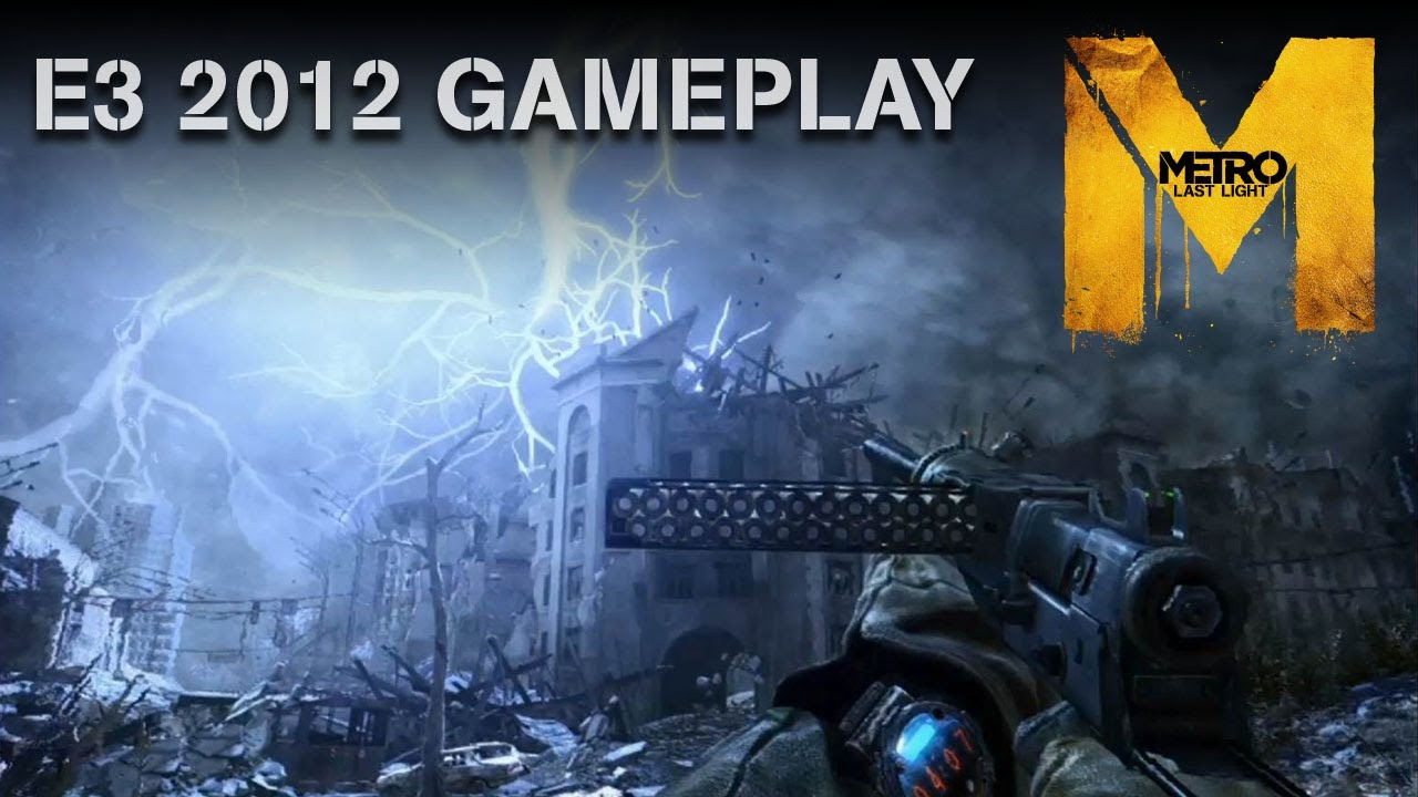 Moscow Sees Rain For The First Time In This Gameplay Demo Of Metro: Last Light