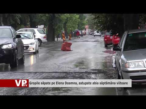 Gropile săpate pe Elena Doamna, astupate abia săptămâna viitoare
