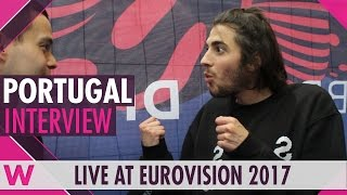 Salvador Sobral (Portugal) interview @ Eurovision 2017 | wiwibloggs