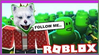 🤢Моя КОРПОРАЦИЯ ЗОМБИ в ROBLOX Я Создал Своего Зомби в игре Роблокс выживание в городе от МАРСИКА