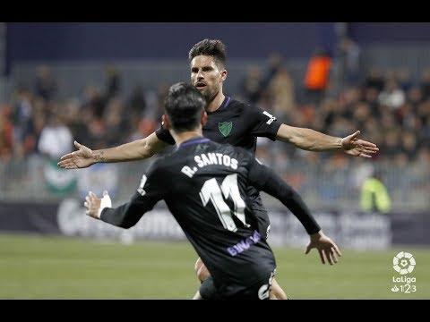 Adrián ve clave que el Málaga siga compitiendo como lo está haciendo