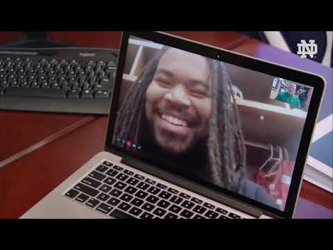 @NDFootball | Brian Kelly FaceTime Interview with Sheldon Day (2019)