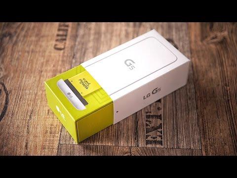 Das spannendere S7? LG G5 Unboxing! - felixba