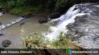 preview picture of video 'Salto Küppers, Eldorado. Misiones Natural'