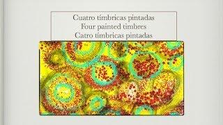 Cuatro tímbricas pintadas, concierto didáctico, Música Práctica ensemble