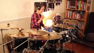 Heart Beats Slow - Angus & Julia Stone, Chloe's Drum Cover