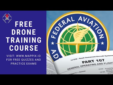 FREE Drone Training Course / FAR Part 107 RPIC Certification ...
