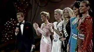 Miss Universe 1986 Top 5 Finalist
