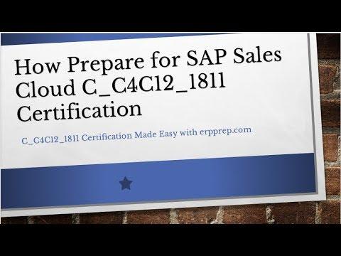 SAP Sales Cloud Certification Guide   Best Preparation Tips For ...
