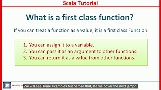 Scala Tutorial - Elements of Functional Programming - Part-1