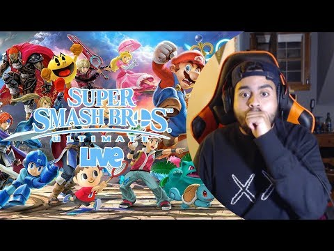 Super Smash Bros Ultimate vs viewers!