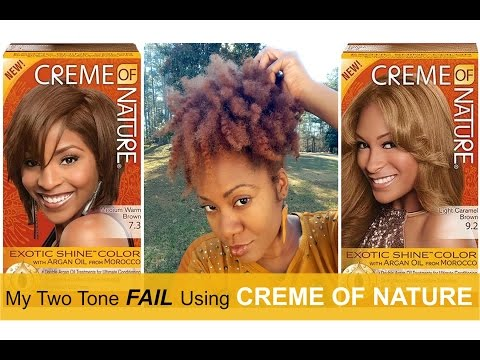 Creme of Nature Hair Color FAIL | Naturally Michy