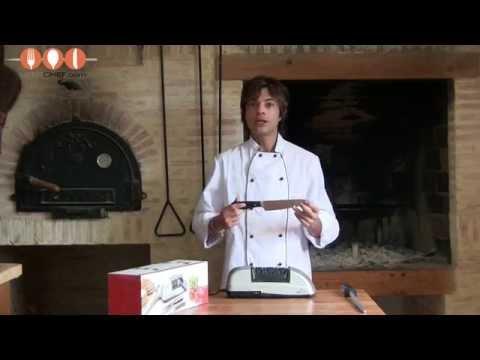 afilador electrico cuchillos lacor 69261 hiperchef