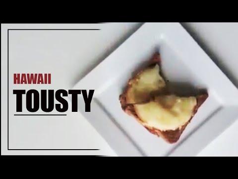 Hawaii toasty ke snídani - rychlé video recepty