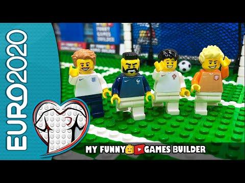 EURO 2020 • Germany Netherlands • France Albania • Serbia Portugal • England Bulgaria• Lego Football