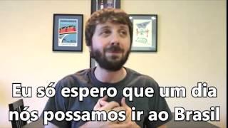Mensagem de Maxwell Glick aos fãs brasileiros