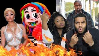 NICKI SNAPPED!!! 🔥😱 | 6IX9INE - MAMA (feat. Nicki Minaj, Kanye West) (DUMMY BOY ALBUM) | REACTION!!!