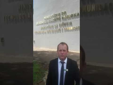 Prefeito Marquinhos lutando em Brasília para instalação da Caixa Econômica Federal em Paranatinga