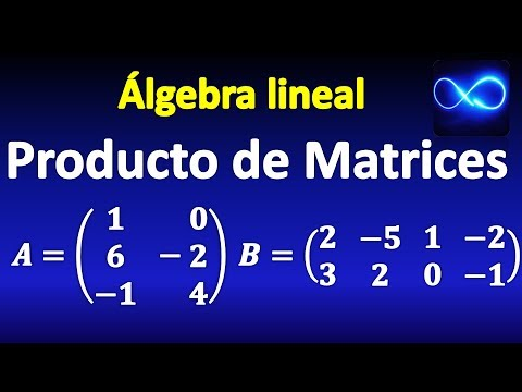 06. Multiplicación de matrices, explicada paso a paso   Álgebra lineal