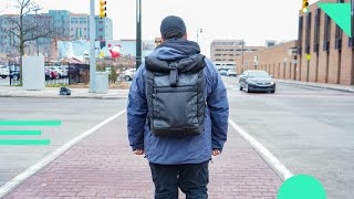 Timbuk2 Tech Roll Top Backpack Review (Initial Thoughts)