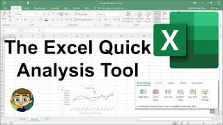 The Excel Quick Analysis Tool