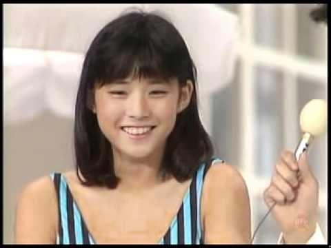 石田ゆり子YURIKO ISHIDA、キャンギャルTV出演。1987/04/27