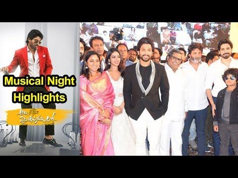 Ala Vaikuntapurramlo Movie Musical Night Event