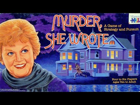 Murder She wrote Board Game Review