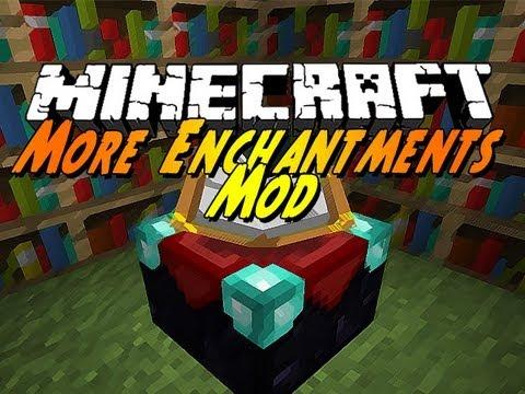 Minecraft Mods - Enchantments Mod