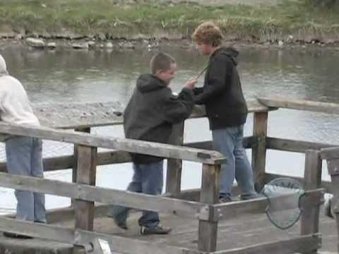 Steelhead Fishing on Kids Creek Pond