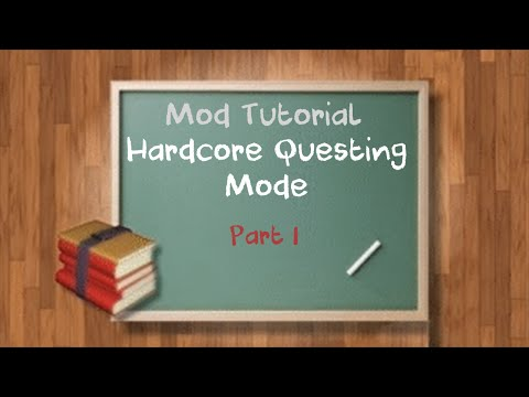 Tutorial Series - Minecraft - Hardcore Questing Mode - Part 1