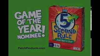 5 Second Rule game by PlayMonster