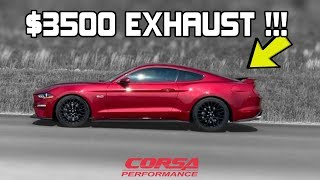 This 2018 Mustang GT GETS a $3500 Full CORSA Exhaust!!! (LET'S GO FAST!)