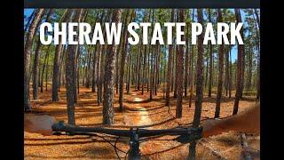 Mr Tom rides Cheraw State Park Mountain Bike Trail