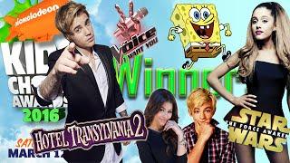 Winners Kids Choice Awards 2016 | FINAL