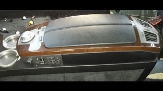 BMW DIY 745 - Center Console/Rear Air Vent Removal Part 1