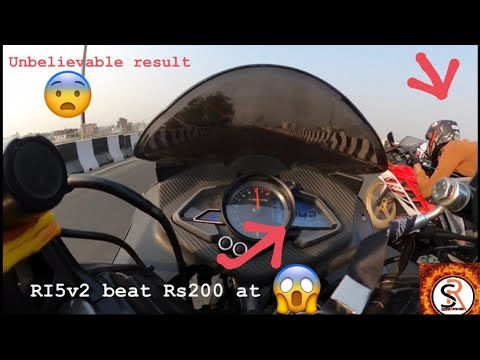 RC200 BS4 VS RS200 BS6 VS R15V2 /TOP END / HIGHWAY BATTLE