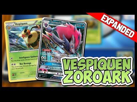 Vespiquen / Zoroark GX – Pokemon TCG Online Gameplay