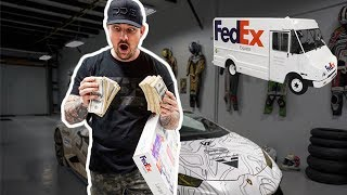 SHOCKING DELIVERY SOMEONE SENT $100,000 DOLLARS