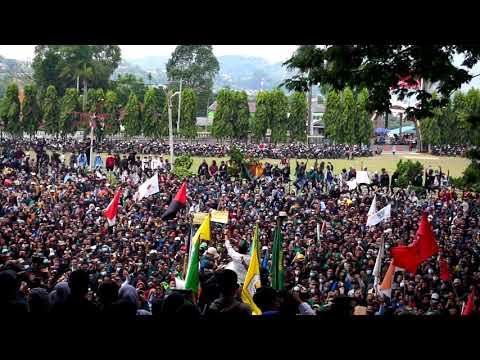 Lampung Murka, UU Omnibus Law Cipta Kerja Disahkan Ibu Pertiwi Berduka